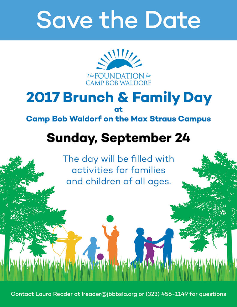 2017 brunch family day camp bob waldorf - Family days enero 2017 ...