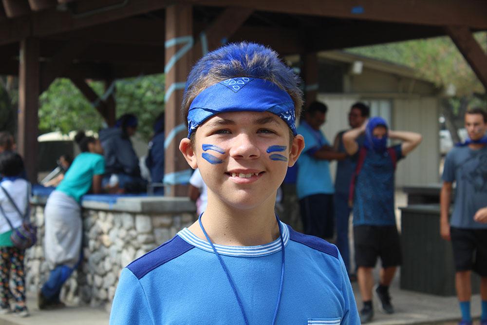 Kibbutz Bob Waldorf Kid in Blue