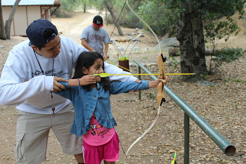 Archery at Camp Bob Waldorf