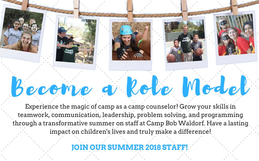 Become A Role Model At Camp Bob Waldorf