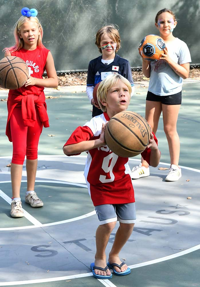Basketball at Camp Bob Waldorf